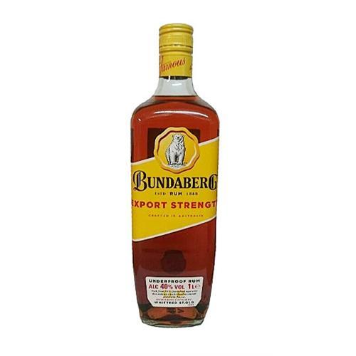 Bundaberg Export Strength 40% 100cl Image 1