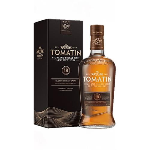 Tomatin 18 years old 46% 70cl Image 1