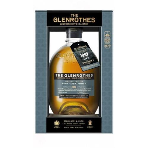 The Glenrothes 1992 Grahams 23 years old Port Cask Finish 57.7% Cask #13 70cl Image 1