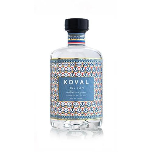 Koval Dry Gin 47% 50cl Image 1