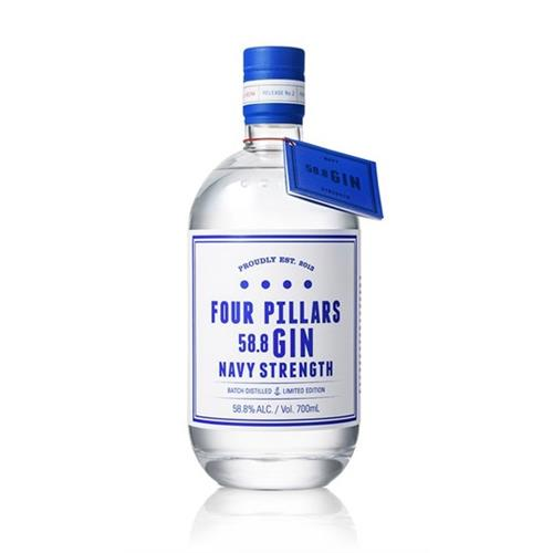 Four Pillars Navy Strength Gin 58.8% 70c Image 1