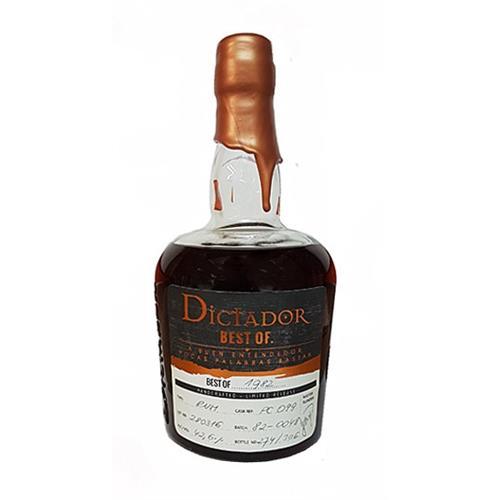 Dictador Best of 1982 Single Barrel Rum Image 1