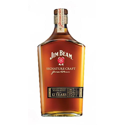 Jim Beam Signature Craft 12 years old Small Batch 43% 70cl Image 1