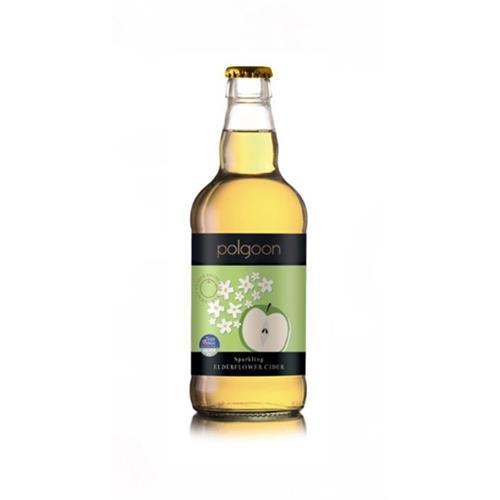 Polgoon Cornish Elderflower Cider 500ml Image 1
