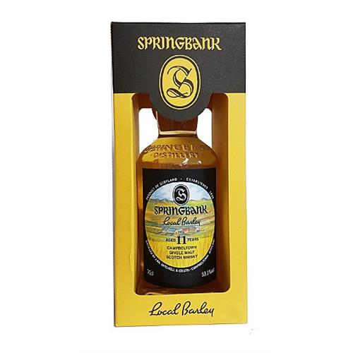 Springbank Local Barley 11 years old 70c Image 1