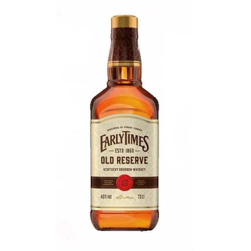 Early Times Old Reserve Bourbon 40% 70cl Image 1
