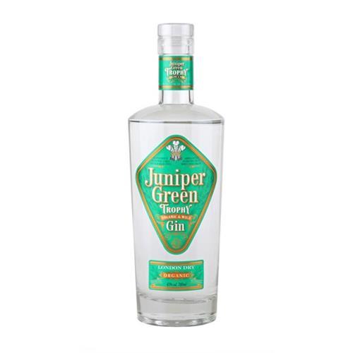 Juniper Green Trophy Gin Organic 43% 70c Image 1