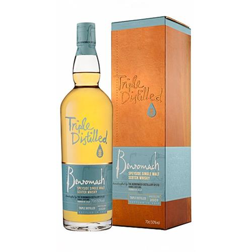 Benromach Tripled Distilled 2009 50% 70c Image 1
