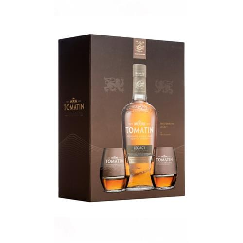 Tomatin Legacy Gift Pack 43% 70cl Image 1