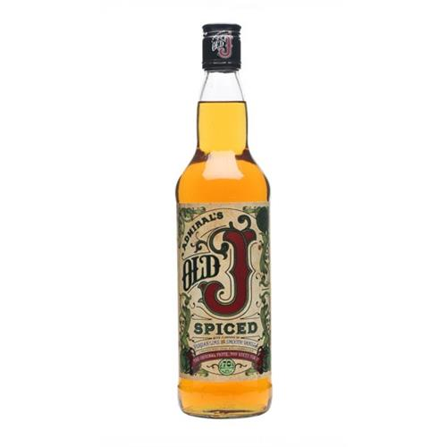 Admiral Vernon's Old J Spiced Rum 70cl Image 1