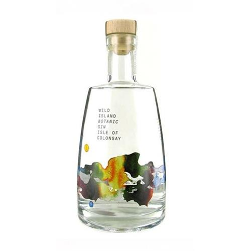 Wild Island Botanical Gin Isle Of Colonsay 70cl Image 1
