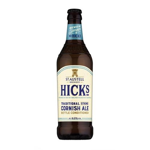 Hicks Traditional Strong Cornish Ale 500ml Image 1