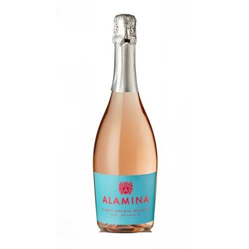 Alamina Pinot Grigio Rosato Vino Spumante 75cl Image 1