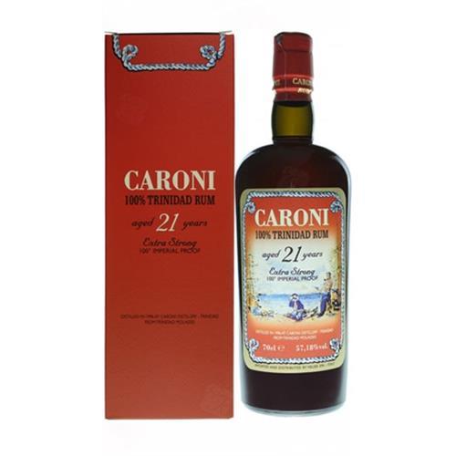 Caroni 100% Trinidad 21 Year Old Rum 57.2% 70cl  Image 1