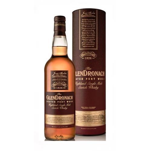 Glendronach Peated Port Wood Single Malt Whisky 70cl Image 1