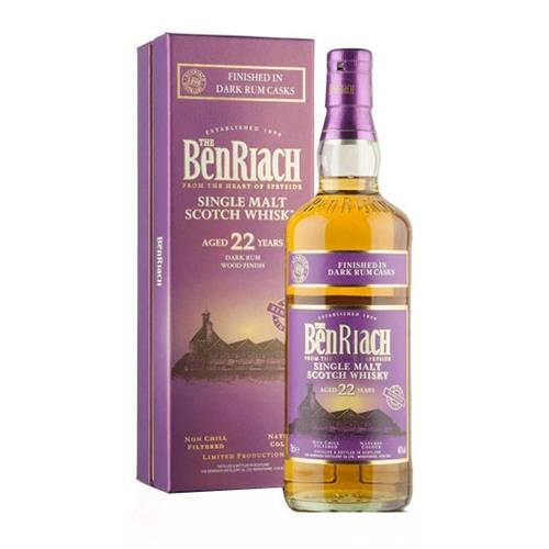 The Benriach 22 Year Old Dark Rum Wood F Image 1