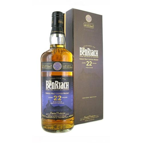 Benriach 22 Year Od Dunder Peated Dark Rum Finish 70cl Image 1