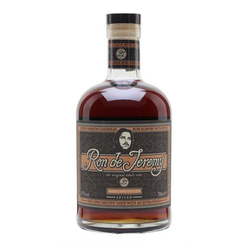 Ron de Jeremy Spiced Rum Hardcore Edition 47% 70cl Image 1
