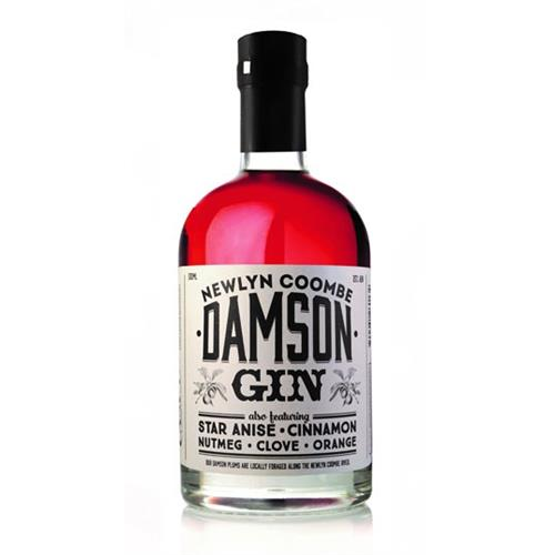Newlyn Coombe Damson Gin 25% 50cl Image 1