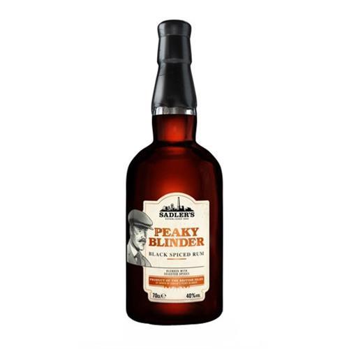 Peaky Blinder Black Spiced Rum 40% 70cl Image 1
