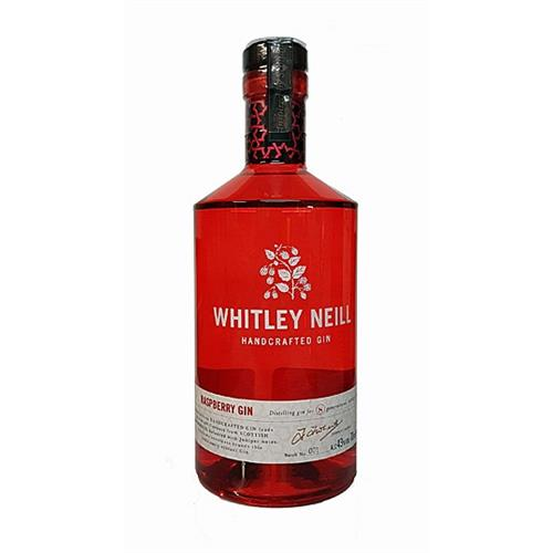 Whitley Neill Raspberry Gin 43% 70cl Image 1
