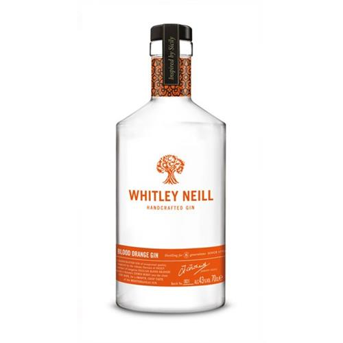 Whitley Neill Blood Orange Gin 43% 70cl Image 1