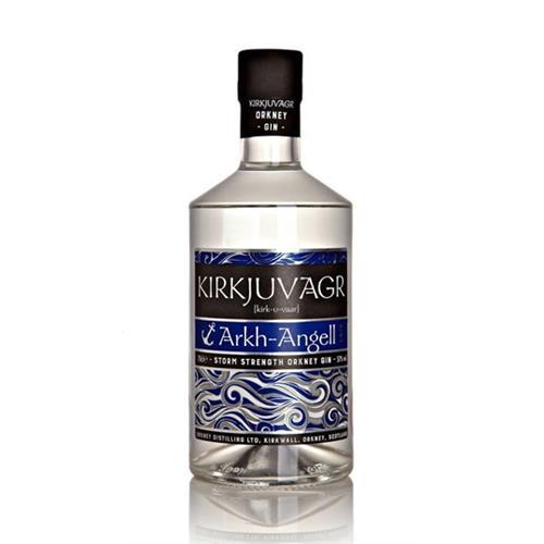 Kirkjuvagr Arkh-Angell Storm Strength Gin 57% 70cl Image 1
