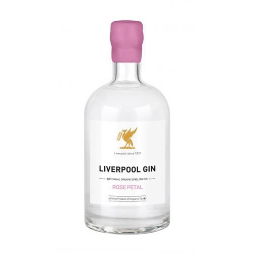 Liverpool Rose Petal Gin 43% 70cl Image 1