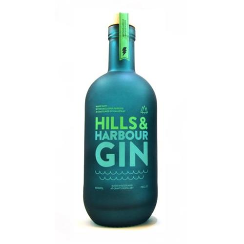 Hills & Harbour Gin 40% 70cl Image 1