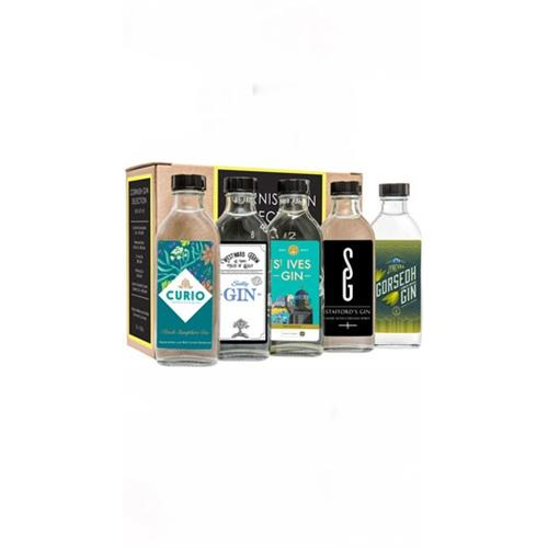 Cornish Gin Selection Box Set 2 - 5 x 10cl Image 1