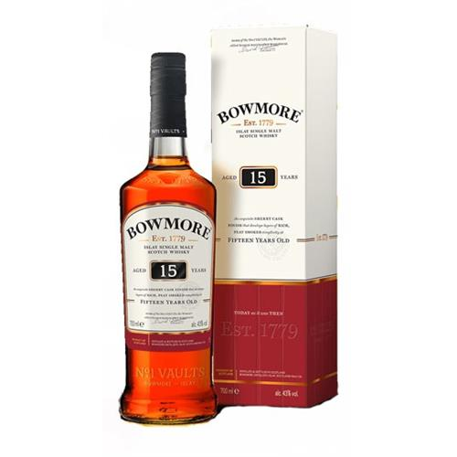 Bowmore 15 years old 43% 70cl Image 1