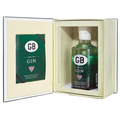 Chase GB Very Dry Gin 20cl Gift Book Image 1