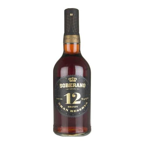 Soberano 12 Gran Reserva Brandy 38% 70cl Image 1