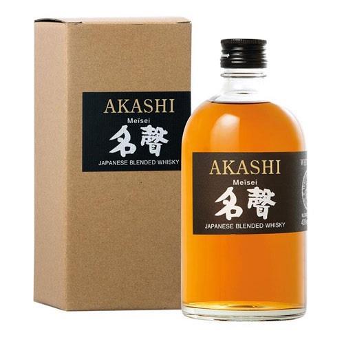 Akashi Meisei Japanese Blended Whisky40% Image 1