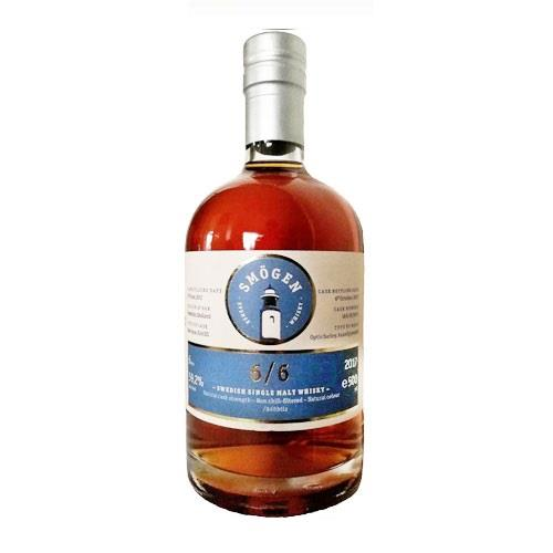Smogen 6/6 Single Malt 59.2% 50cl Image 1