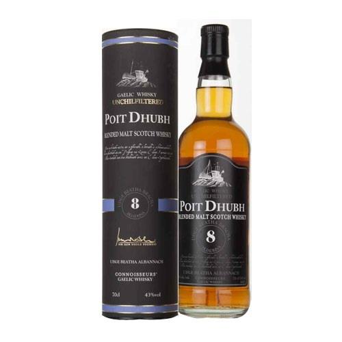 Poit Dhubh 8 years old 40% 70cl Image 1