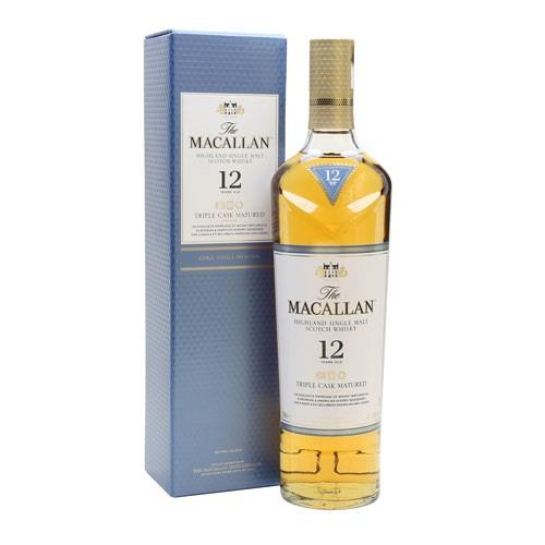 Macallan 12 years old Triple Cask 40% 70 Image 1