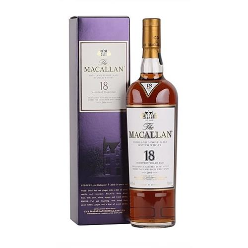 The Macallan 18 years old 2016 Releaase70cl Image 1