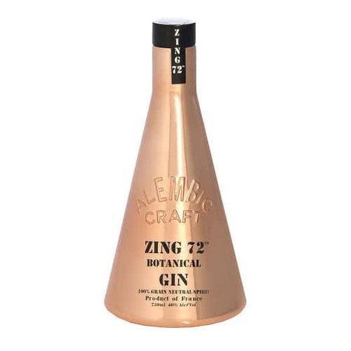 Zing 72 Botanical Gin 40% 70cl Image 1