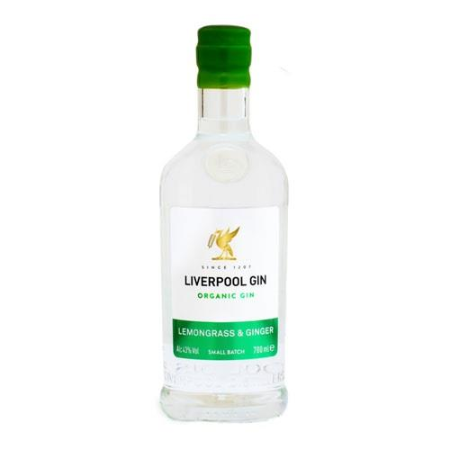 Liverpool Gin Lemongrass & Ginger 70cl Image 1