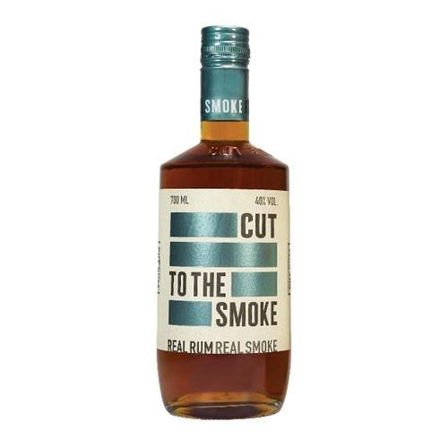 Cut To the Smoke Rum 40% 70cl Image 1