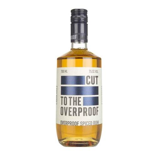 Cut to the Overproof Spice Rum 75.5% 70c Image 1