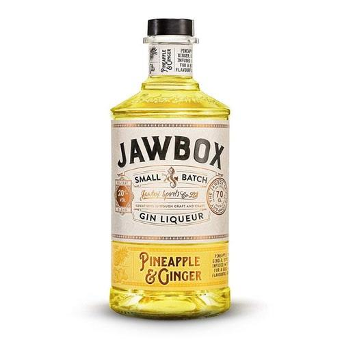 Jawbox Pineapple & Ginger Gin Liqueur 70cl Image 1