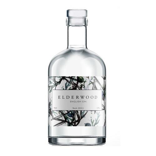 Elderwood English Gin 43% 50cl Image 1