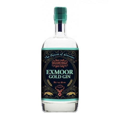 Exmoor Gold Gin Wicked Wolf 42% 70cl Image 1