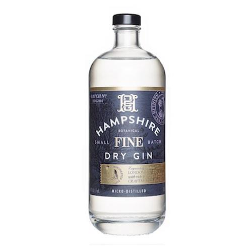 Hampshire Fine Dry Gin 40% 70cl Image 1
