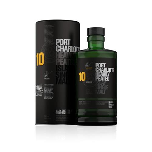 Port Charlotte 10 Year Old Heavily Peated Bruichladdich 70cl Image 1