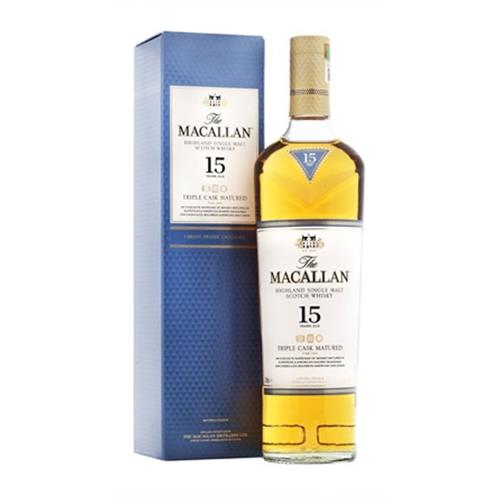 Macallan 15 Years Old Triple Cask Mature Image 1