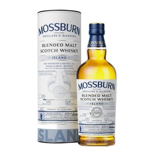 Mossburn Whisky Island Blended Malt 46% Image 1