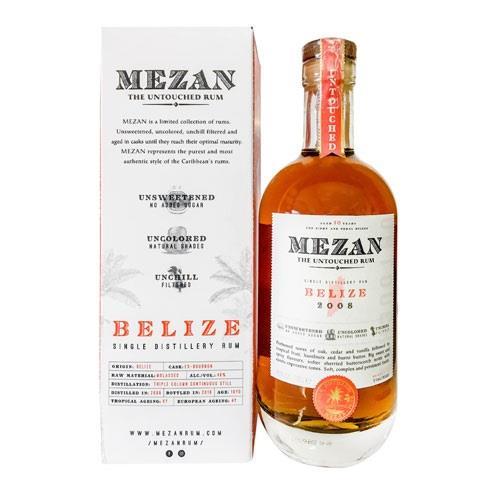 Mezan Belize 2008 Rum 46% 70cl Image 1